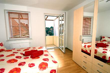 Gästewohnung Schlafzimmer