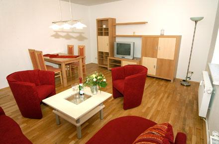 Gästewohnung Wohnzimmer